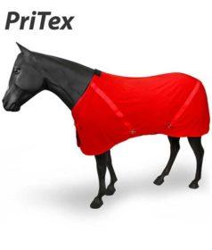 red pritex horse blanket