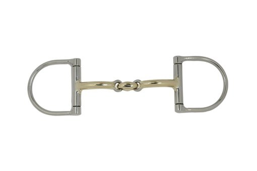 bowman 3 piece twisted wire snaffle 447
